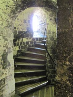 Inside the White Tower, Tower of London Woo hoo! We have climbed these steps! England And Scotland, England Uk, London England, Most Beautiful Cities, Beautiful Buildings, Places Around The World, Around The Worlds, Places To Travel, Places To Visit