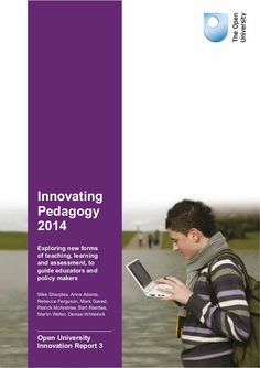 Innovating pedagogy 2014