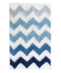 Add A Touch Of Summer With This Ocean Blue Bath Mat For The Bath - Multi colored bath rugs for bathroom decorating ideas
