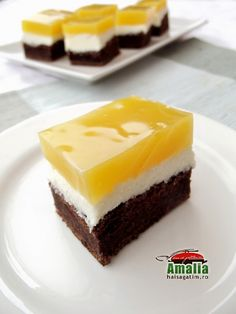 Prajitura Fanta Ricotta, Cookie Recipes, Cheesecake, Deserts, Food And Drink, Pudding, Cookies, Sweet Ideas, Mobiles