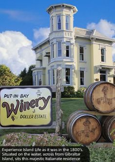Experience Island Life as it was in the 1800's on Put-in-Bay at the Doller House. Tours, wine tasting & retail room, display of island winter life, available for weddings & groups, on the waterfront.