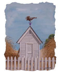 "Original watercolor by Bob Timberlake...""Blackbeard's Breeze""  8.5""x11.5"""