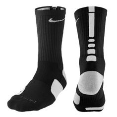 Nike Elite Basketball Crew Socks - Men's The Nike Elite Basketball Crew Sock features Midfoot Compression Fit that helps keep socks and cushioning in place. Nike Elite Socks, Nike Socks, Sport Socks, Men's Socks, Volleyball Socks, Nike Basketball Socks, Basketball Stuff, Basketball Kit, Basketball Outfits
