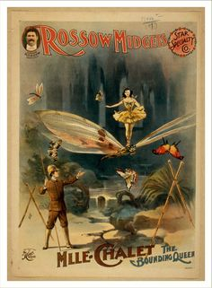 Historic Theater Poster, Rossow Midgets Star Speciality Co...