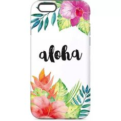 Aloha iPhone Case. Shop now at www.skinit.com #summer #aloha #floral #iPhone #iPhonecase #phonecase