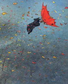 De paraplu - Ingrid & Dieter Schubert