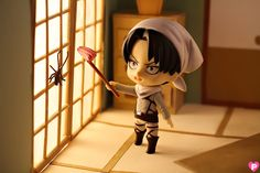 cleaning levi nendoroid photography - Google Search