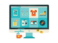 internet shopping by Elena Lazutina