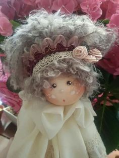 Clay Dolls, Doll Toys, Soft Dolls, Christmas Angels, Fabric Dolls, Pin Cushions, Needle Felting, Handmade, Diy