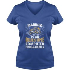 Married To An Awesome Computer Programmer - Mens Premium T-Shirt  #gift #ideas #Popular #Everything #Videos #Shop #Animals #pets #Architecture #Art #Cars #motorcycles #Celebrities #DIY #crafts #Design #Education #Entertainment #Food #drink #Gardening #Geek #Hair #beauty #Health #fitness #History #Holidays #events #Home decor #Humor #Illustrations #posters #Kids #parenting #Men #Outdoors #Photography #Products #Quotes #Science #nature #Sports #Tattoos #Technology #Travel #Weddings #Women