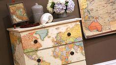 mapas en muebles - Buscar con Google
