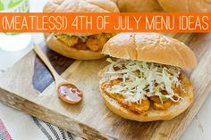 Meatless Summer Menu Ideas -- lots of grilled recipes