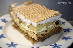 Rehabilitujme žemľovku! Tu je 10 pádnych dôvodov - Magazín Tiramisu, Pie, Ethnic Recipes, Desserts, Food, Torte, Cake, Meal, Fruit Pie