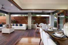 I just viewed this inspiring Berkley 27 Alfresco image on the Porter Davis website. Check it out yourself and get inspired! Outdoor Living Rooms, Outdoor Dining, Outdoor Decor, Living Spaces, Alfresco Designs, Alfresco Area, Contemporary Interior Design, Modern Interior, Interior Exterior