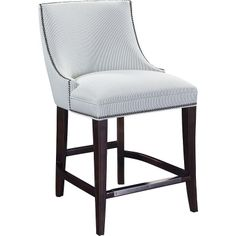Hickory Chair 1508-03 Suzanne Kasler Hunt Counter Stool available at Hickory Park Furniture Galleries
