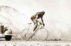 Fausto Coppi solo break at altitude
