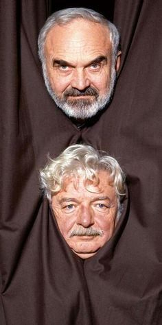 Zdeněk Svěrák and Ladislav Smoljak Soviet Union, Films, Movies, Czech Republic, Movie Stars, Actors & Actresses, Famous People, Theatre, Personality