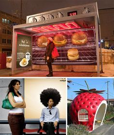 Most bus stops are… less than stellar. As functional as anything can be in this world, the form is totally utilitarian and dull. Thankfully not all municipalities believe this should be the case. Unfortunately, most bus stop excitement is purely advertiser-driven guerilla marketing. (Images via curiousread, a-girl-and-her-fork, nowthatsnifty, epidemicfun) Fruit-shaped bus stops have an innocent [...]
