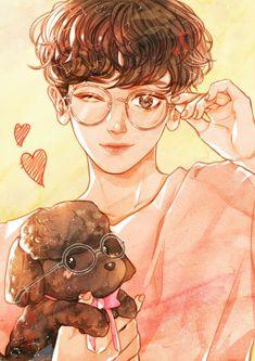 Read 14 from the story EXO Fanarts by (Ana💅💅💅) with 177 reads. Chanbaek, Kaisoo, Chanyeol Cute, Exo Chanyeol, Exo Anime, Anime Manga, Kpop Fanart, Exo Fan Art, Kpop Drawings
