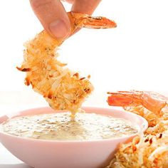 Coconut Shrimp with Malibu Rum Sauce photo