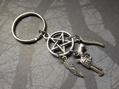 Supernatural Dreamcatcher Hunter Keychain by AngelQ on Etsy