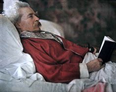 """Mark Twain - autochrome - """"Travel is fatal to prejudice, bigotry, and narrow-mindedness, and many of our people need it sorely on these accounts. Broad, wholesome, charitable views of men and things cannot be acquired by vegetating in one little corner of the earth all one's lifetime.""""  ― Mark Twain"""