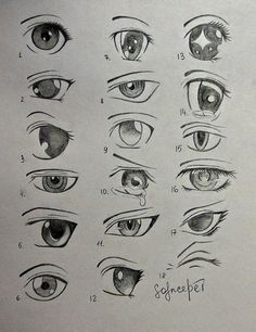 Different Ways To Draw Anime Eyes Anime Eyes Solncedei On Deviantart #anime #deviantart #different #Draw #eyes #solncedei #Ways Art Drawings Sketches Simple, Pencil Art Drawings, Cartoon Drawings, Sketches Of Eyes, Eye Drawings, Cartoon Art, How To Draw Anime Eyes, Manga Eyes, Manga Anime