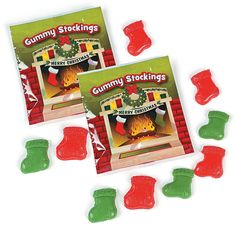 Gummy Stockings Fun Packs - OrientalTrading.com
