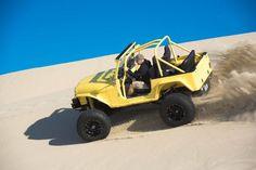 Not So Mellow Yellow Jeep - Four Wheeler Cj Jeep, Jeep Cj7, 4x4, The Dunes, Mellow Yellow, Wheels