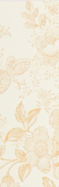 We could use cream & yellow toile for the inserts too... to keep the kitchen truely two toned...