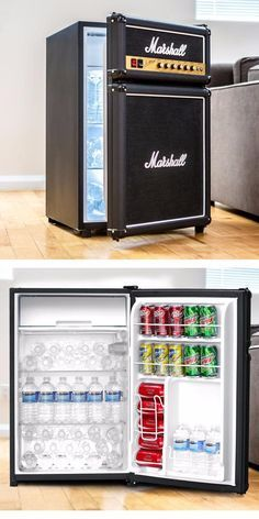 The Marshall Fridge is a must-have piece of rock and roll history and one that music aficionados will be proud to showcase in their homes, caves, dens, garages or wherever else they like to relax with a cold drink.