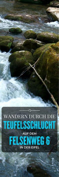 Wandern durch die Teufelsschlucht auf dem Felsenweg 6 in der Eifel