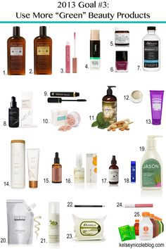 It's been a goal of mine for quite some time to buy more all natural products because of skin sensitivities and for the environment. Better try some of these out!