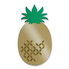This is a PINEAPPLE MIRROR