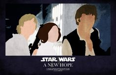 star wars silhouette posters - Google Search