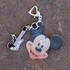 3D Disney  Inspired Mickey Mouse Style Guitar Pick by chuckhljal, $15.00
