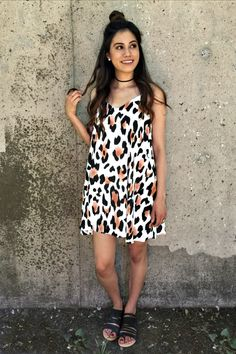 Leopard Me Go Mini Dress