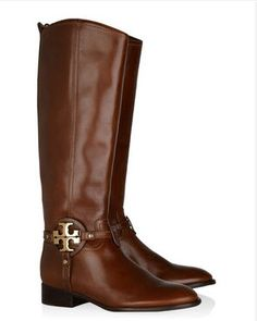 tory burch riding boots...