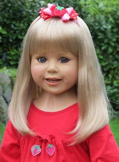 Millie is a member of the Masterpiece Doll collection. She is a bashful blue eyed beauty, though shy to start, once she opens up she is one social butterfly!