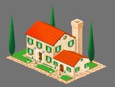 Game artwork_Farm game on Behance