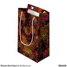 Blumen Bunt Aqua Kleine Geschenktüte Designs, Bunt, Aqua, Business Cards, Postcards, Artworks, Nice Asses, Pictures, Water