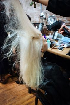 """The Right Way To Bleach Your Hair At Home #refinery29  http://www.refinery29.com/how-to-bleach-hair#slide-1  Step 1: Evaluate Your Risk""""The best and lightest results are seen on hair that is virgin — no hair dye at all — and shades that are light brown and [lighter],"""" says Alex Brownsell, Bleach London founder and celebrity colorist. You can do it on darker hair, but it will require some patience, and the damage ..."""