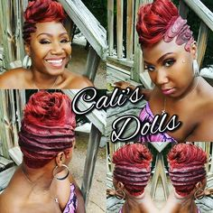 : Haar CurlyHairStyles BraidsWig HairColor ShortHairStyles Hairstyle Ideas & Inspiration for Black Women hairstyles Black BraidsWig CurlyHairStyles Haar haircolor Hairstyle Hairstyles Ideas Inspiration ShortHairStyles women Haar Cu 27 Piece Hairstyles, Quick Weave Hairstyles, Cute Hairstyles For Short Hair, Black Girls Hairstyles, Pretty Hairstyles, Hairstyle Ideas, Braided Hairstyles, Red Hairstyles, African Hairstyles