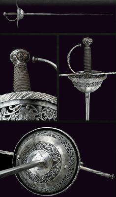Cup-hilt Rapier. Dated: 17th Century. Culture: Italian.