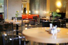 Gelbes Krokodil – Restaurant & Bar Restaurant Bar, Conference Room, Table, Furniture, Home Decor, Crocodile, Linz, Decoration Home, Room Decor
