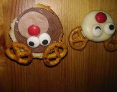 rendier-traktaties Sugar, Cookies, School, Desserts, Food, Crack Crackers, Tailgate Desserts, Deserts, Eten