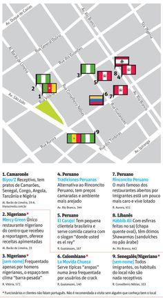 Depois dos peruanos, restaurantes populares africanos ganham espaço no centro de SP - 12/01/2014 - sãopaulo - Folha de S.Paulo