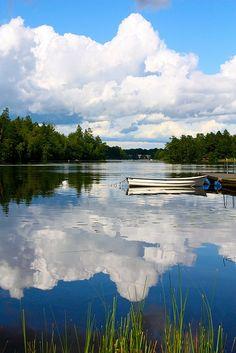 Summer travel dreams - Lake Halen, Blekinge, Sweden