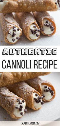 Easy Authentic Cannoli Recipe With This Easy Cannoli Recipe, You Too Can Make Amazing And Creamy, Unforgettable Italian Restaurant Quality Cannolis At Home Enjoy This Traditional Italian Dessert - Perfect For Valentine's Day, Tea Time Or Brunch Buffets Mini Desserts, Valentine Desserts, Easy Desserts, Delicious Desserts, Desserts For A Crowd, Baking Desserts, Easy Italian Desserts, Amazing Dessert Recipes, Recipes For Desserts
