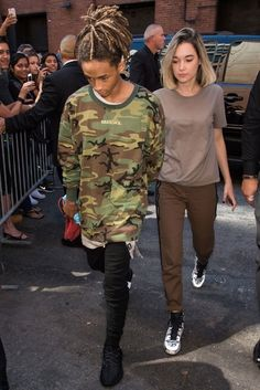 Estilo de Willow e Jaden Smith